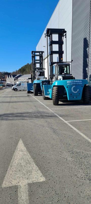 Truck på Asker Marina